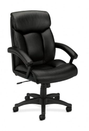 Basyx Executive High-Back SofThread Leather Chair LA