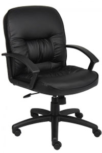 Boss Mid-Back Conference Room Executive Chair B7306