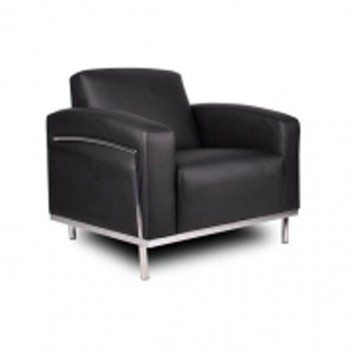 Contemporary Boss Black Lounge Chair BR99001 Stanton