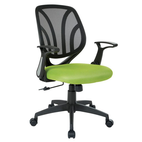OSP Work Smart Office Chair with Flip Arms Los Angeles
