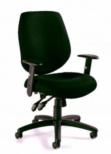 Global OTG Low Back Tilter Task Chair 11651 Riverside