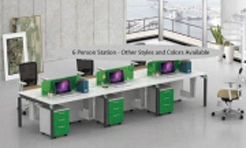 New Open Floor Modern Workstations for Orange County