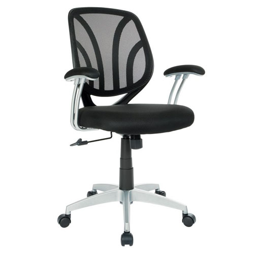 OSP New Office Chair with Padded Arms Orange Co.