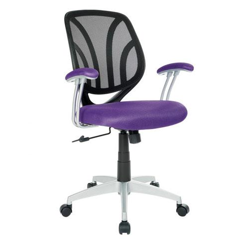 OSP Work Smart Office Chair in Purple