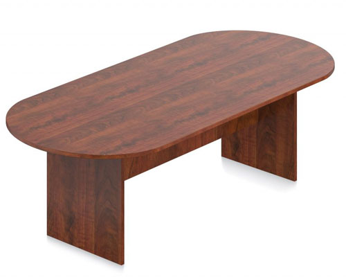 Racetrack Conference Table Available in Cherry, Espresso or Mahogany