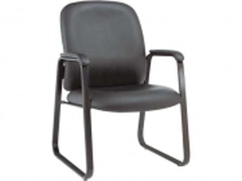 Black Leather Sled Chair Orange County, California