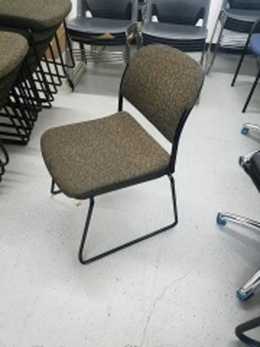 Used Ki Piretti Sled Base Stacking Chair Los Angeles