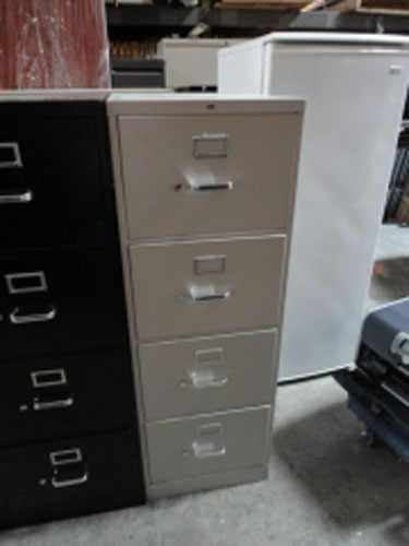 Used, Metal Vertical File Cabinets Orange County, CA