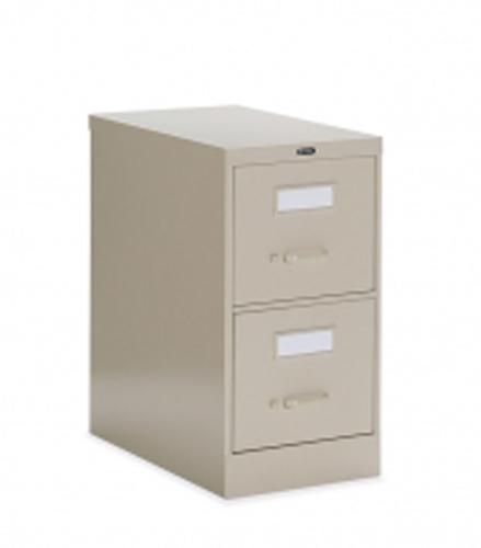 2500 Series New Black Vertical File-Letter Cabinet